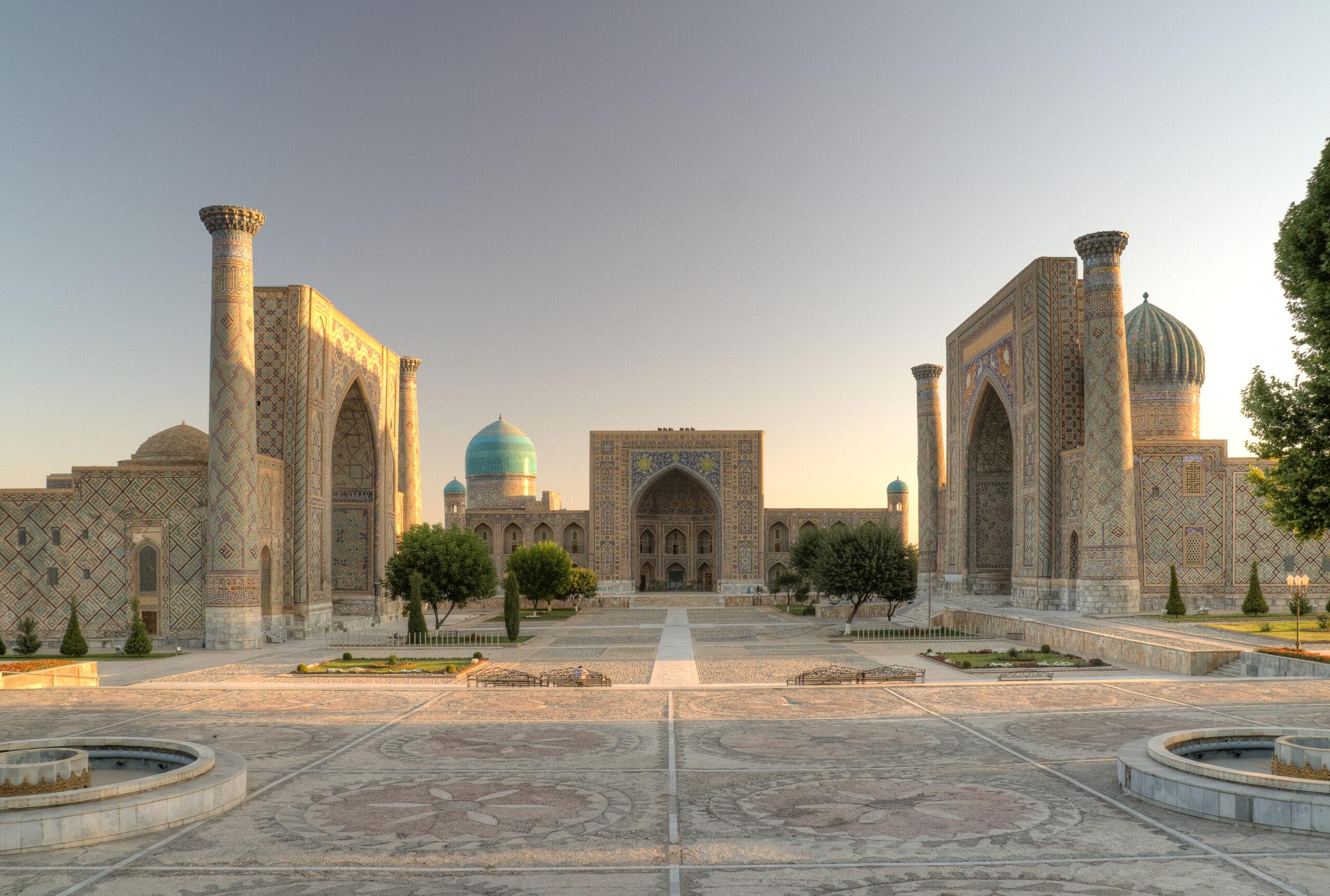 özbekistan semerkand