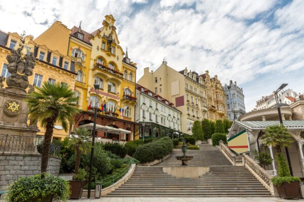 Karlovy Vary downtown